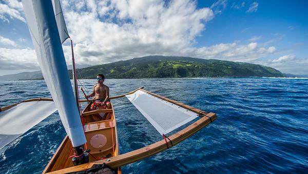 Tahiti - 2013 - Mise à l'eau du Va'a Motu // Va'a motu launch