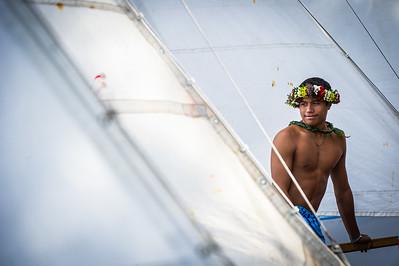 2013 - Tahiti - aout - Régates du Heiva - Ambiances