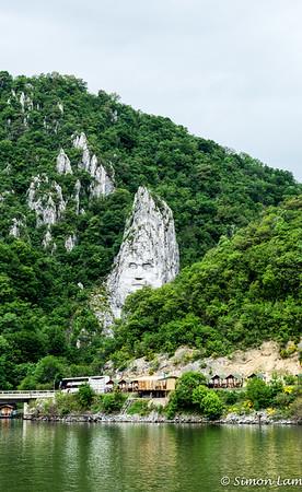 Vidin riverbank, Bulgaria