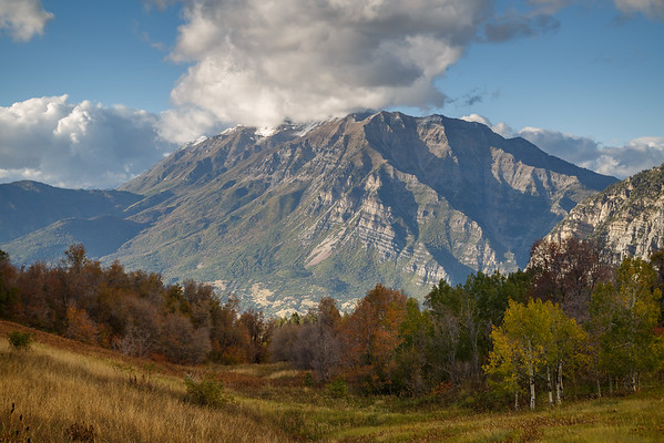 Fall Clouds on Timp Horizontal_
