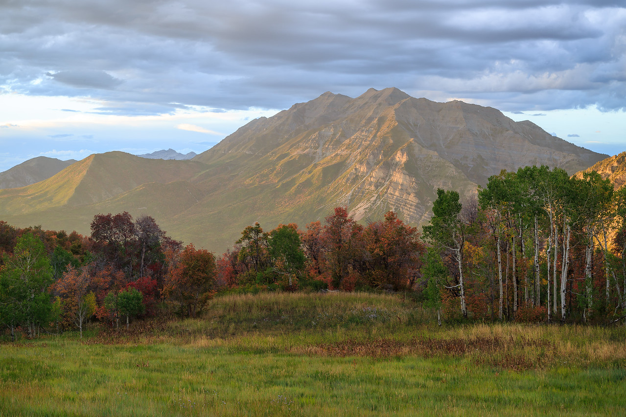 Fall Glow on Timp from The Meadow