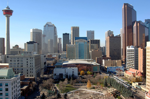7 2011 July 13 City Of Calgary Skyline