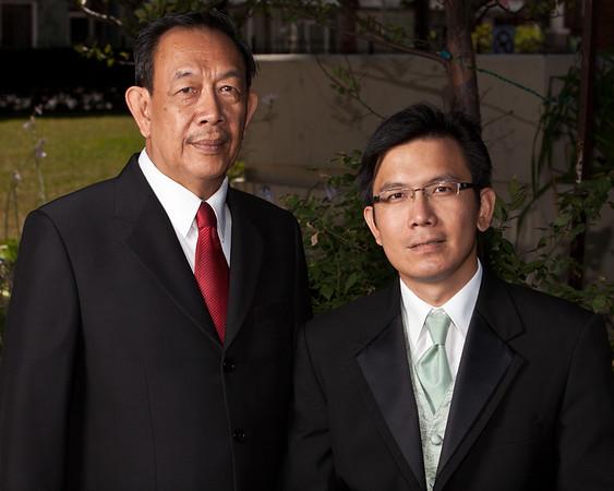 Ron et son père