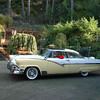 1956 Ford Skyliner (Glasstop) We restored this car in 1988 from an original car that came from the Indian reservation here on Vancouver Island.  It is full power with all options.
