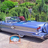 1958 Pontiac Parisienne Convertible.  I built this car out of a super basket case.  I welded 6 months on this car alone.  It is a 348 tri-power, bucket seats and with practically every factory and dealer option avaliable in 1958.  We drove this car to Hot August Nights in 2004.