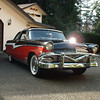 """1956 Meteor Crown Victoria We restored this car in 1990 and drove it to Ocean Shores Washington for its first drive.  It is full power with all accessories except """"air""""."""