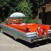 1966 Park Lane convertible.   I bought this car at Don Wheaton's  in Edmonton when I was a kid working in the oilfields in 1968  My wife and I honey mooned in this car in 1969 and then went overseas to work in the oilfield for 25 years.  I had the car in my barn in Manitoba until May 2005.  It is now at home on Vancouver Island with 30,000 miles showing on the speedometer.  This is a Canadian built, bucket seat car in which only a handful were made.
