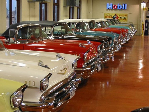 Every Chevrolet convertible since 1912,,,,,<br /> <br /> <br /> <br /> This collection belongs to Dennis Albaugh in Ankeny , Iowa , just north of Des Moines .<br /> <br /> The personal and private collection consists of 110 + Chevrolet convertibles... all years from<br /> 1912 to 1975 and Corvette convertibles from 1953 to 1975.<br /> <br /> That is a Chevy convertible from every year of manufacture EXCEPT 1939...<br /> The reason? - Chevy didn't make a convertible in '39 -- and ended its convertible line in '75!<br /> <br /> He is what you call a REAL Chevy guy, but his passion seems to be convertibles !