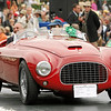 1950 Ferrari 166MM Touring Barchetta<br /> owned by Michael D. Kadoorie from Hong Kong<br /> 3rd Class M-2 (Ferrari Competition)