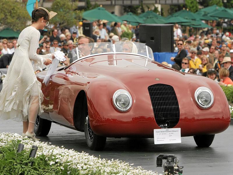 1941 Alfa Romeo 8C 2900B Spyder<br /> owned by Evert V.N. Louwman from Raamsdonksveer, The Netherlands<br /> 3rd Class E-5 (Alfa Romeo 8C 2900)