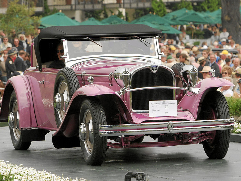3rd Class C-1 (American Classic Open 1925-1941)<br /> 3rd 1929 Ruxton Model C Roadster<br /> owned by Steven A. Schultz from Chicago, Illinois