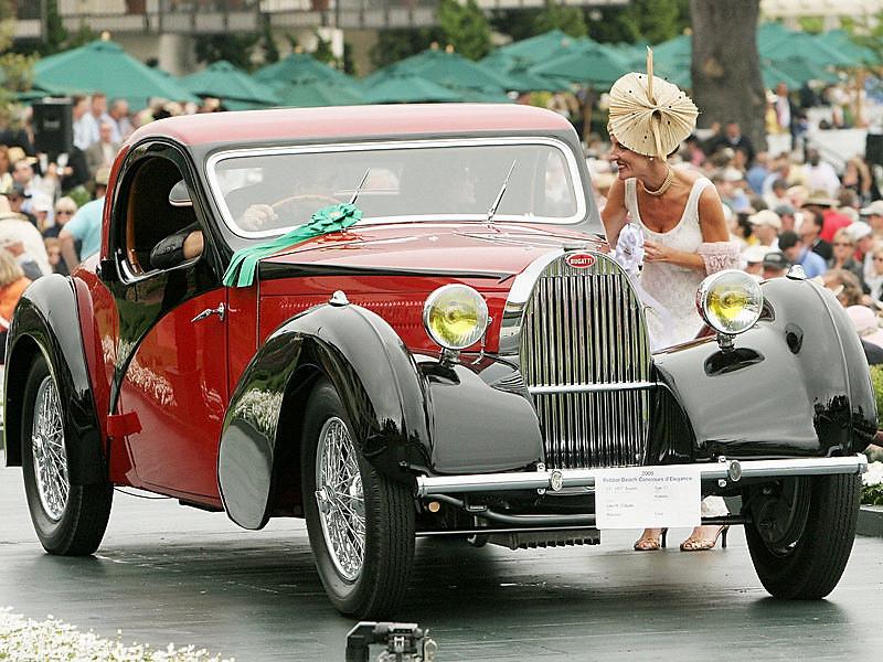 1937 Bugatti Type 57 Atalante<br /> owned by John M. O'Quinn from Houston, Texas<br /> 3rd Class J-1 (European Classic 1925-1939 Closed)