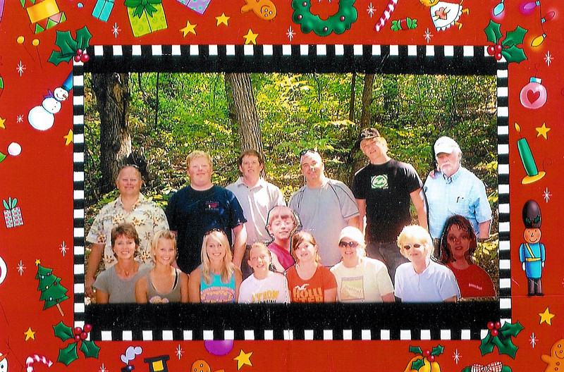 This is Ruby's girlfriend from High School.  Gail and Arnie Heller and Family taken in 2007.  She and Arnie live in Minot, ND