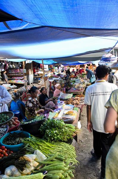 Bertais Market, Lombok