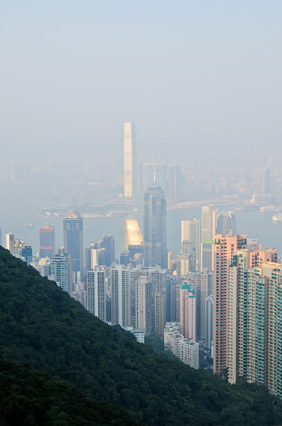 View of Hong Kong from the Peak.