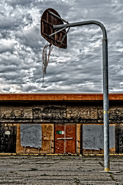 Story: Forgotten.  An old school yard.