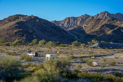 Camino Del Diablo, Camp 2