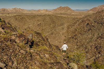 Hiker near El Camino Del Diablo #5