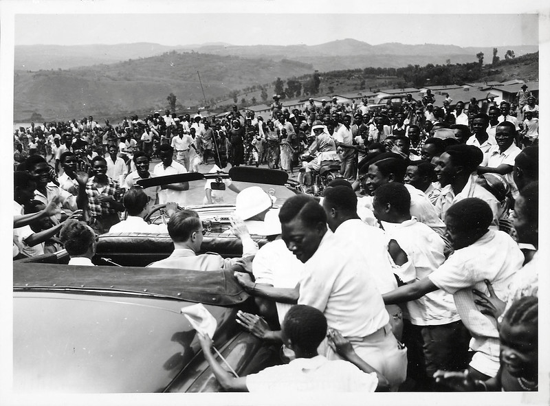 King Baudouin in Belgian-Congo and Ruanda-Urundi, 1955