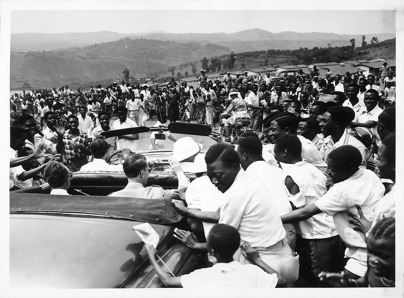 King Baudouin in Belgian-Congo and Ruanda-Urundi, 1955