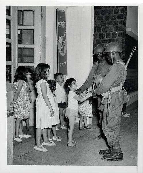 Order is restored in Leopoldville, January 1959