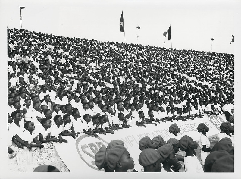 Inaugaration of the King Baudouin Stadium, 1952