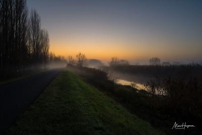 Dawn on the Scheldt