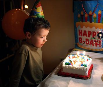 Alex is 5!