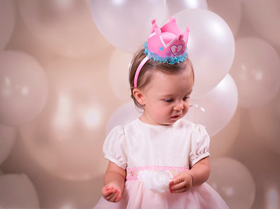 One Year Old Princess
