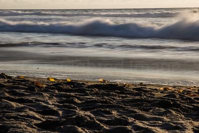 Wave on La Jolla beach