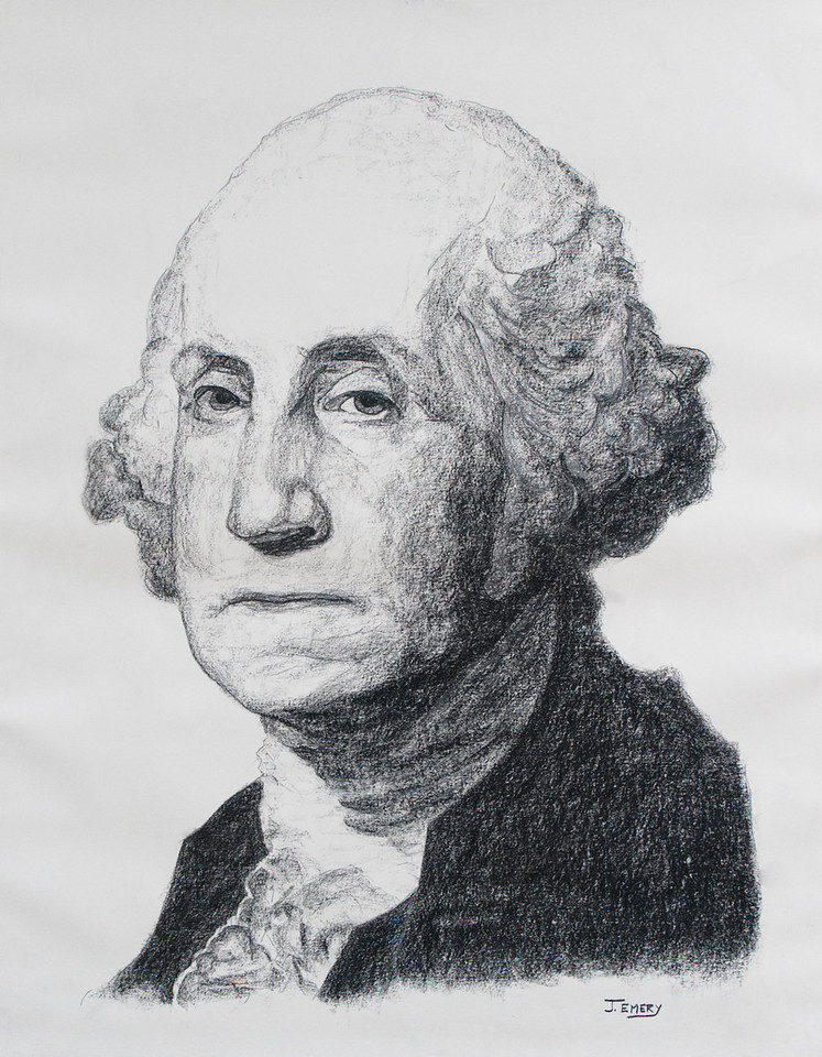 "George Washington 32""x40"""