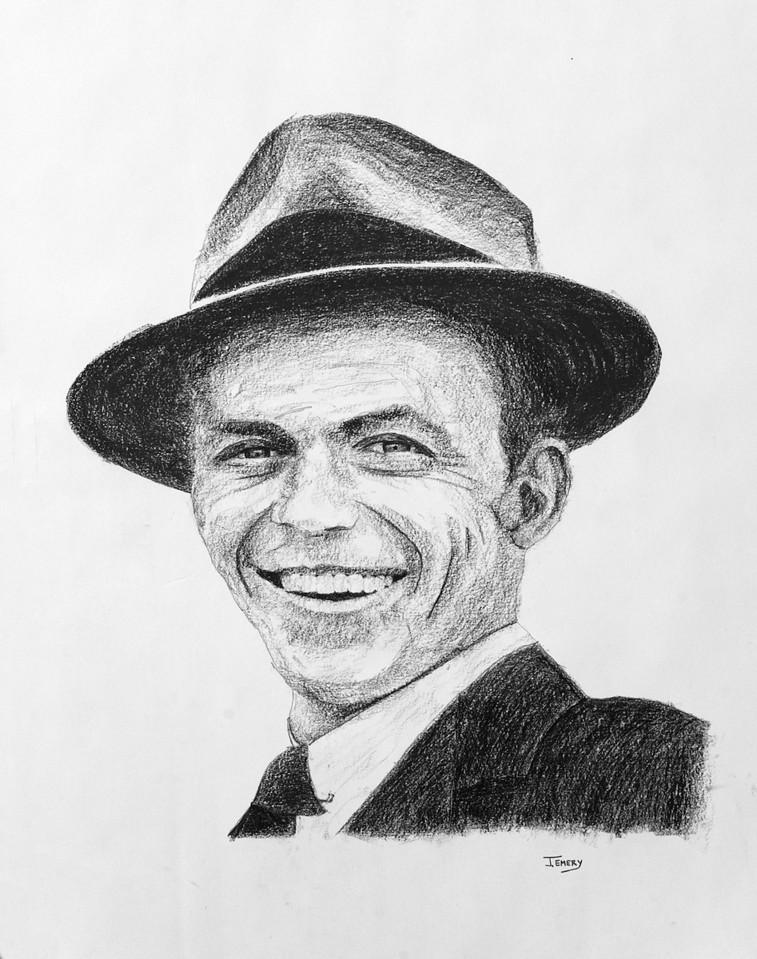 "Frank Sinatra 28""x38"""