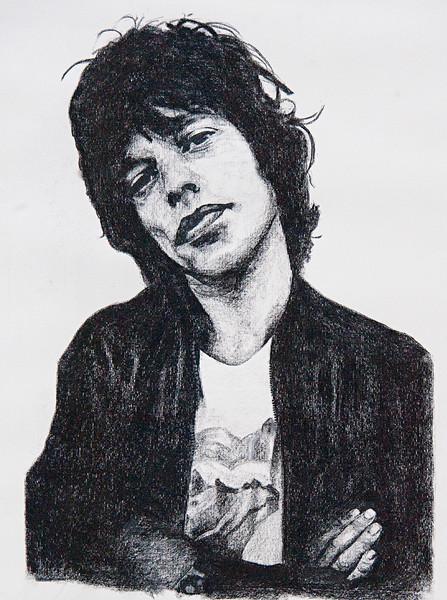 "Mick Jagger 18""x24"""