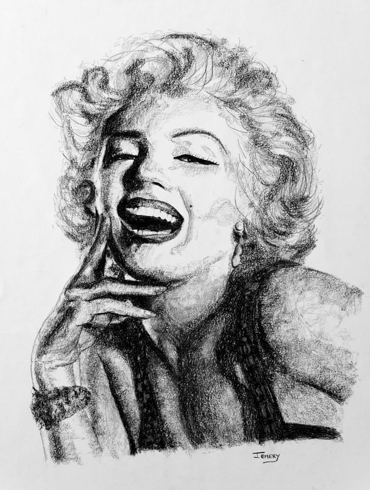 "Marilyn Monroe 28""x36"""