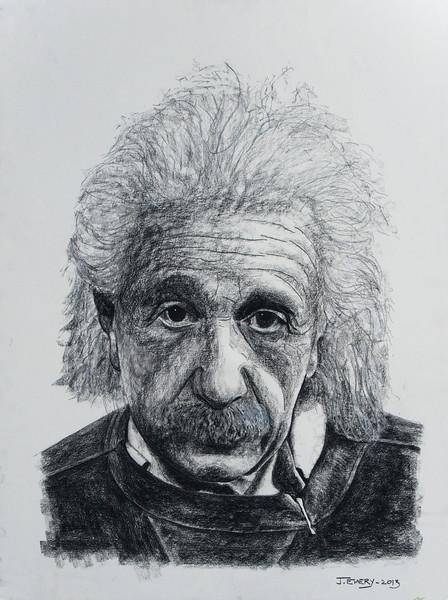 """Albert Einstein 30""""x40"""""""