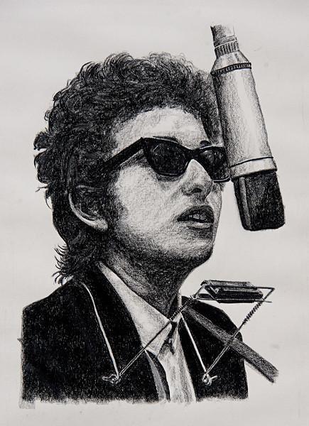 "Bob Dylan 18""x24"""