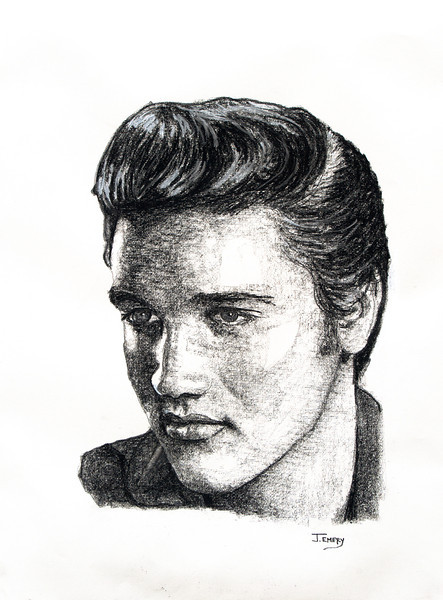 """Elvis Presley 20""""x24"""""""