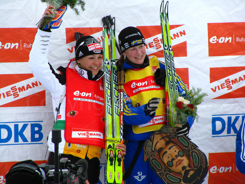 Ladies sprint leader and World Cup leader