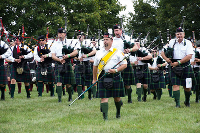 Marching Scots at Highland games