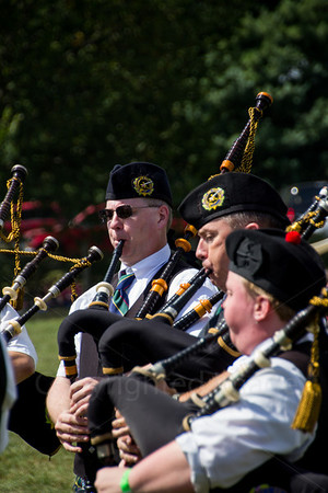Bagpipes at the Highland games in Virginia