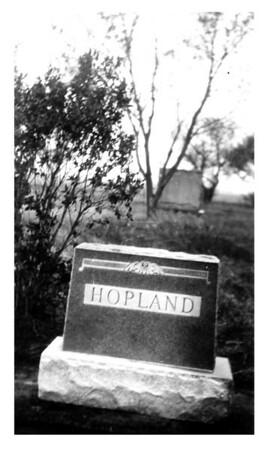 Hopland Headstone . . . Whose?