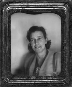 Esther McCready on 39th birthday, 1955.