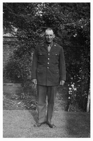 Al Hopland in Army uniform.
