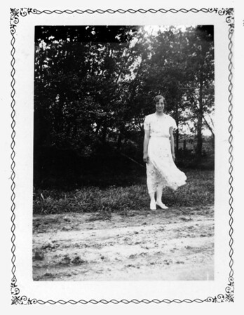 Esther Hopland, Pingree N.D., July 1932