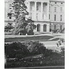 Capitol-Bldg,-Sacramento-Esther-in-Front-of-Tree-1941