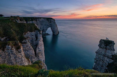 White cliffs of Etretat, Seine-Maritime