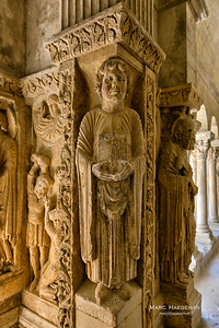 Arles, Bouches-du-Rhône - Saint-Trophime abbey, late 12th-early 13th century