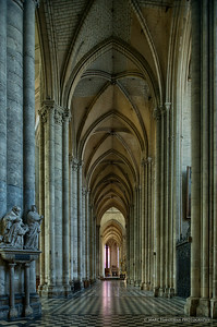 The right aisle, view towards the ambulatory, 1220-1269