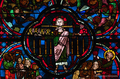 Window of the Apocalypse (early 13th century)