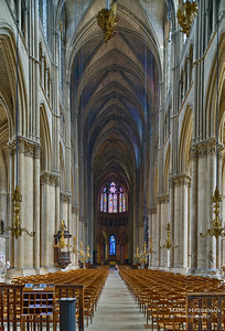 General view of nave and choir (c. 1211-1280)
